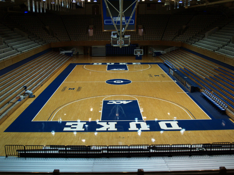 Cameron Indoor Stadium Seating Capacity Brokeasshome Com