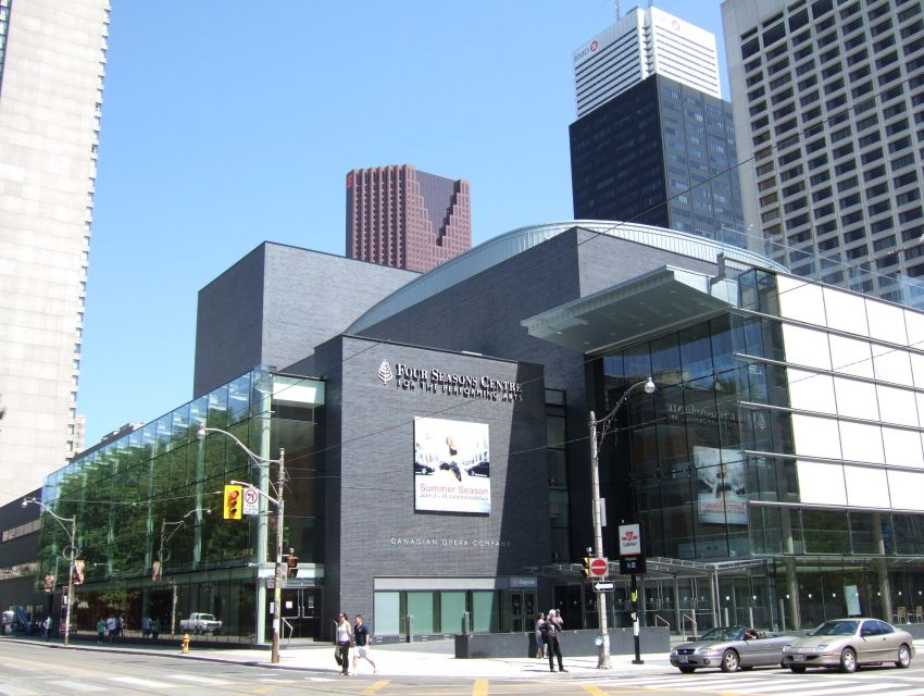 Four Seasons Centre Toronto Tours