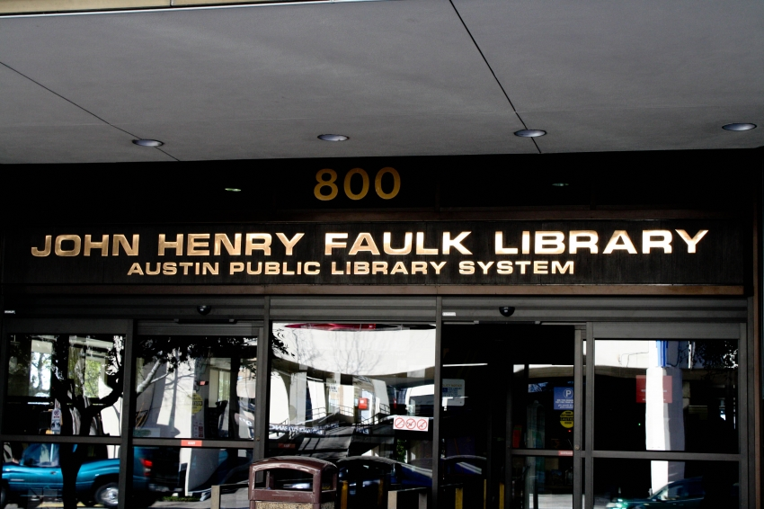 Image result for Faulk Central Library
